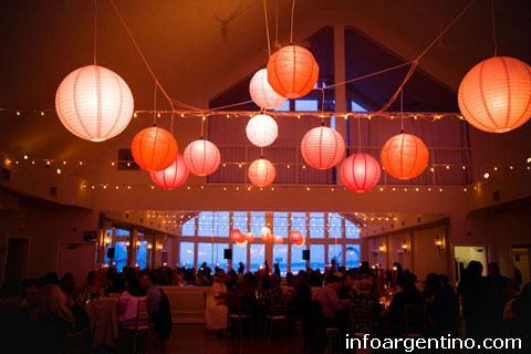 L mparas papel globo pantalla china esfera colgar techo for Mayorista decoracion