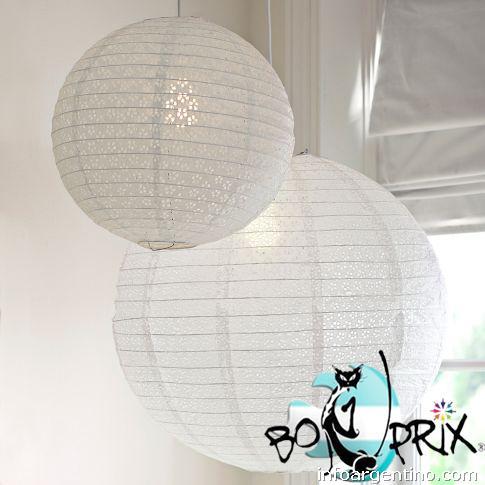 Fotos de l mparas papel globo pantalla china esfera colgar - Lamparas de techo de papel ...